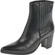 YKX & Co Klassische Stiefeletten Chelsea Stiefelette  schwarz