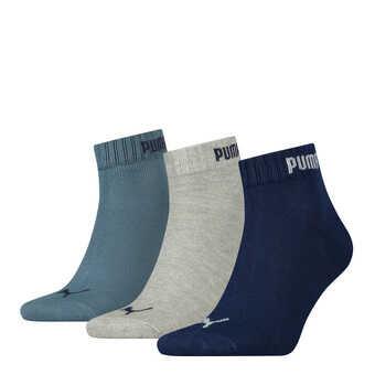 PUMA 3er Pack Quarter Socken