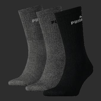 Socken für Frauen - Puma Lifestyle Crew Socken 3 er Pack Damen - Onlineshop Schuhcenter