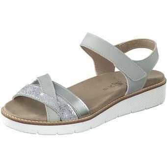 Aco Nora 03 Sandale Damen silber | Schuhe > Sandalen & Zehentrenner | Aco