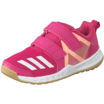 Billig Deutschland Adidas FortaGym GelbWeiß Schuhe Kinder
