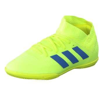 Minigirlschuhe - adidas performance Nemeziz 18.3 IN Jr. Fußball Mädchen Jungen gelb - Onlineshop Schuhcenter