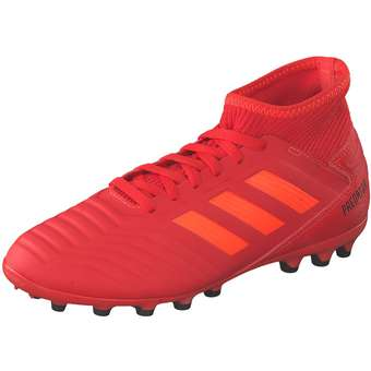 Minigirlschuhe - adidas performance Predator 19.3 AG J Fußball Mädchen|Jungen rot - Onlineshop Schuhcenter
