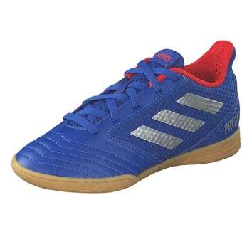 Minigirlschuhe - adidas performance Predator 19.4IN Sala J Fußball Mädchen|Jungen blau - Onlineshop Schuhcenter