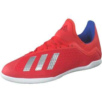 Minigirlschuhe - adidas performance X 18.3 In J Fußball Mädchen|Jungen rot - Onlineshop Schuhcenter