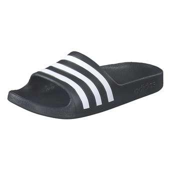 Minigirlschuhe - adidas Adilette Aqua K Badepantolette Mädchen|Jungen schwarz - Onlineshop Schuhcenter