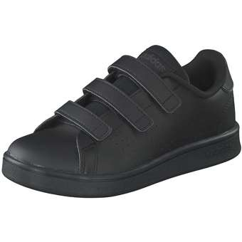 Advantage C Sneaker Mädchen|Jungen schwarz
