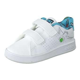 Advantage I Sneaker Mädchen|Jungen weiß