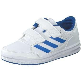 - adidas AltaSport CF K Sneaker Mädchen|Jungen weiß - Onlineshop Schuhcenter