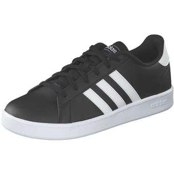 - adidas Grand Court K Sneaker Mädchen|Jungen schwarz - Onlineshop Schuhcenter