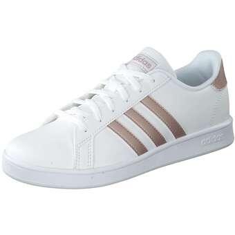 - adidas Grand Court K Sneaker Mädchen weiß - Onlineshop Schuhcenter