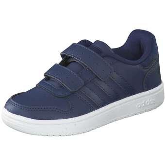 adidas Hoops 2.0 CMF C Sneaker Mädchen Jungen blau
