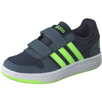 - adidas Hoops 2.0 CMF C Sneaker Mädchen|Jungen blau - Onlineshop Schuhcenter