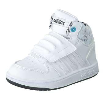 Hoops Mid 2.0 I Sneaker Mädchen|Jungen weiß