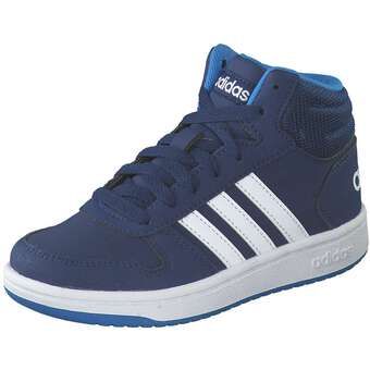 Hoops Mid 2.0 K Sneaker Mädchen|Jungen blau
