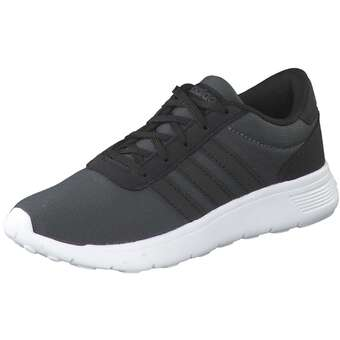 adidas Lite Racer K Sneaker Mädchen|Jungen schwarz