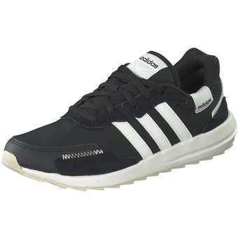 Retrorun Sneaker Damen schwarz