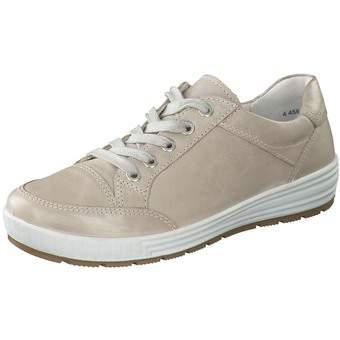 Halbschuhe für Frauen - Ara Nagano Schnürer Damen beige  - Onlineshop Schuhcenter