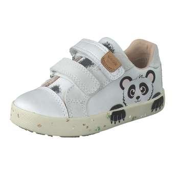 Minigirlschuhe - Geox B Kilwi Girl Lauflern Kletter Mädchen weiß - Onlineshop Schuhcenter