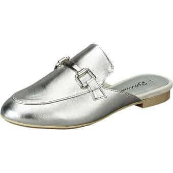 Clogs für Frauen - Bellissima Sabot Damen silber  - Onlineshop Schuhcenter