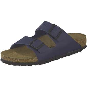 Birkenstock Pantolette Arizona blau