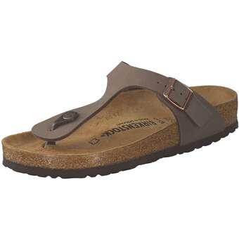 Sandalen für Frauen - Birkenstock Gizeh Zehentrenner Damen braun  - Onlineshop Schuhcenter