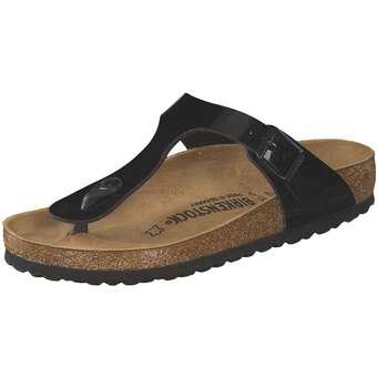 Sandalen für Frauen - Birkenstock Gizeh Zehentrenner Damen schwarz  - Onlineshop Schuhcenter