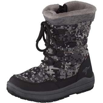 KangaROOS Boots Winterstiefel schwarz