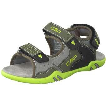 - CMP Kids Alphard Trekkingsandale Mädchen|Jungen grün - Onlineshop Schuhcenter