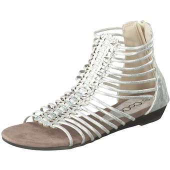 Charmosa Sandale Damen silber