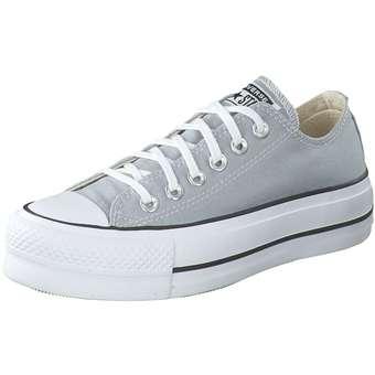 Converse Chuck Taylor All Star Lift-OX Damen grau | Schuhe > Sneaker > Plateau Sneaker | Converse