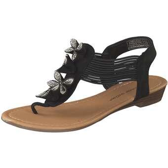Sandalen für Frauen - Claudia Ghizzani Sandale Damen schwarz  - Onlineshop Schuhcenter