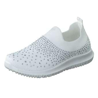 - Claudia Ghizzani Slipper Mädchen weiß - Onlineshop Schuhcenter