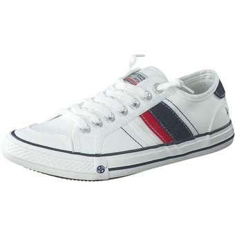 Dockers Leinen Sneaker Herren weiß