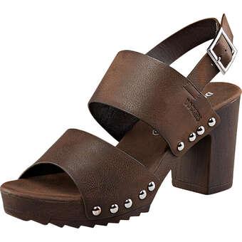 Dockers Sandale dunkelbraun