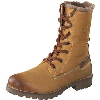 Dockers Schnür-Boots braun