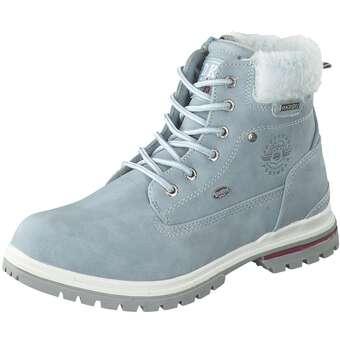 - Dockers Schnür Boots Mädchen blau - Onlineshop Schuhcenter