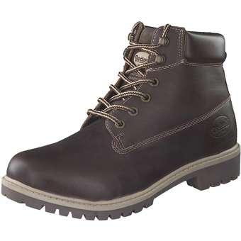 new styles cdcad 2c1a6 Schuhcenter SALE | Dockers Schnür Boots Herren braun | 4050283709738