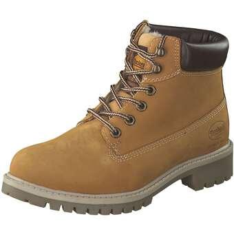 Dockers Schnür Boots Damen braun | Schuhe > Boots > Schnürboots | Dockers