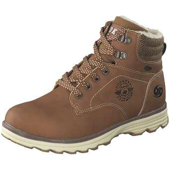- Dockers Schnür Boots Jungen braun - Onlineshop Schuhcenter