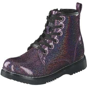 - Dockers Schnür Boots Mädchen lila - Onlineshop Schuhcenter