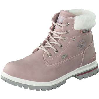 Dockers Schnür Boots Mädchen rosa | 04050283789242