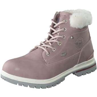 - Dockers Schnür Boots Mädchen rosa - Onlineshop Schuhcenter
