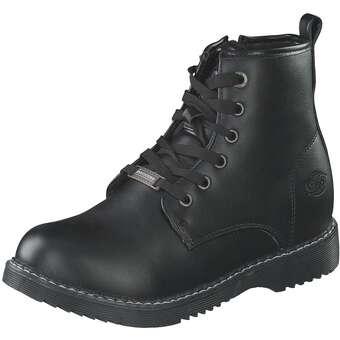 - Dockers Schnür Boots Mädchen schwarz - Onlineshop Schuhcenter