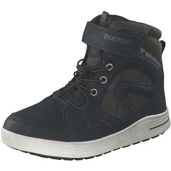 - Dockers Schnür Boots Jungen schwarz - Onlineshop Schuhcenter