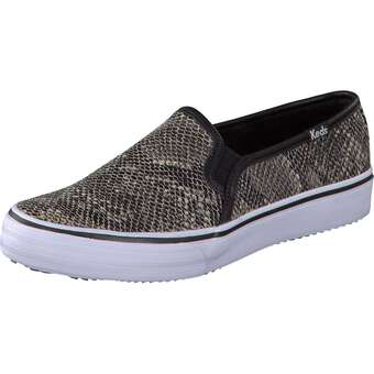 Keds Double Decker Metallic Snake schwarz