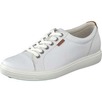 Ecco Soft 7 Ladies-Sneaker weiß