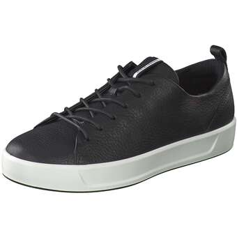 Ecco Soft 8 Ladies Sneaker schwarz