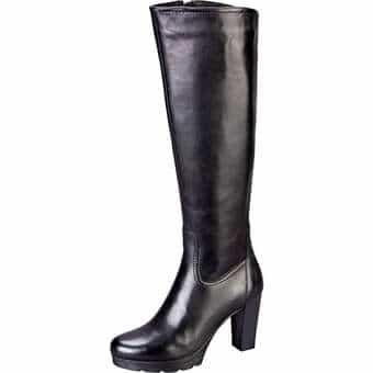Stiefel für Frauen - Fantasy Langschaftstiefel Damen schwarz  - Onlineshop Schuhcenter
