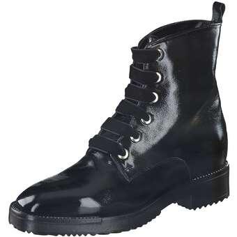 Stiefel für Frauen - Fantasy Schnürstiefelette Damen schwarz  - Onlineshop Schuhcenter